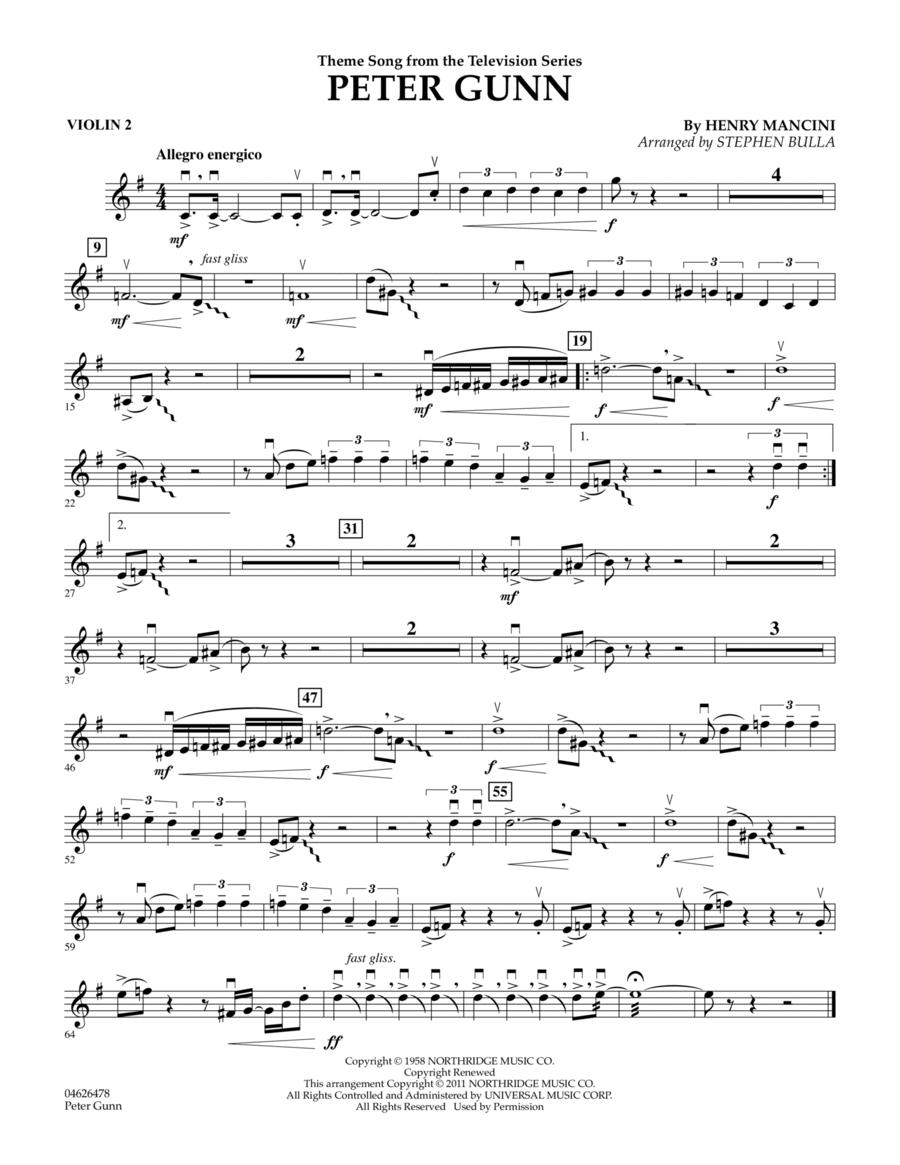 Peter Gunn - Violin 2
