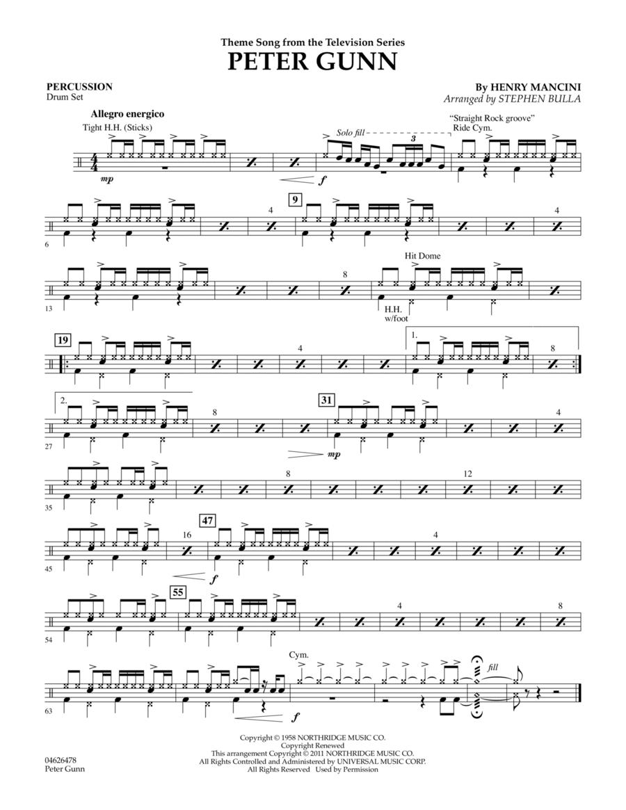 Peter Gunn - Percussion