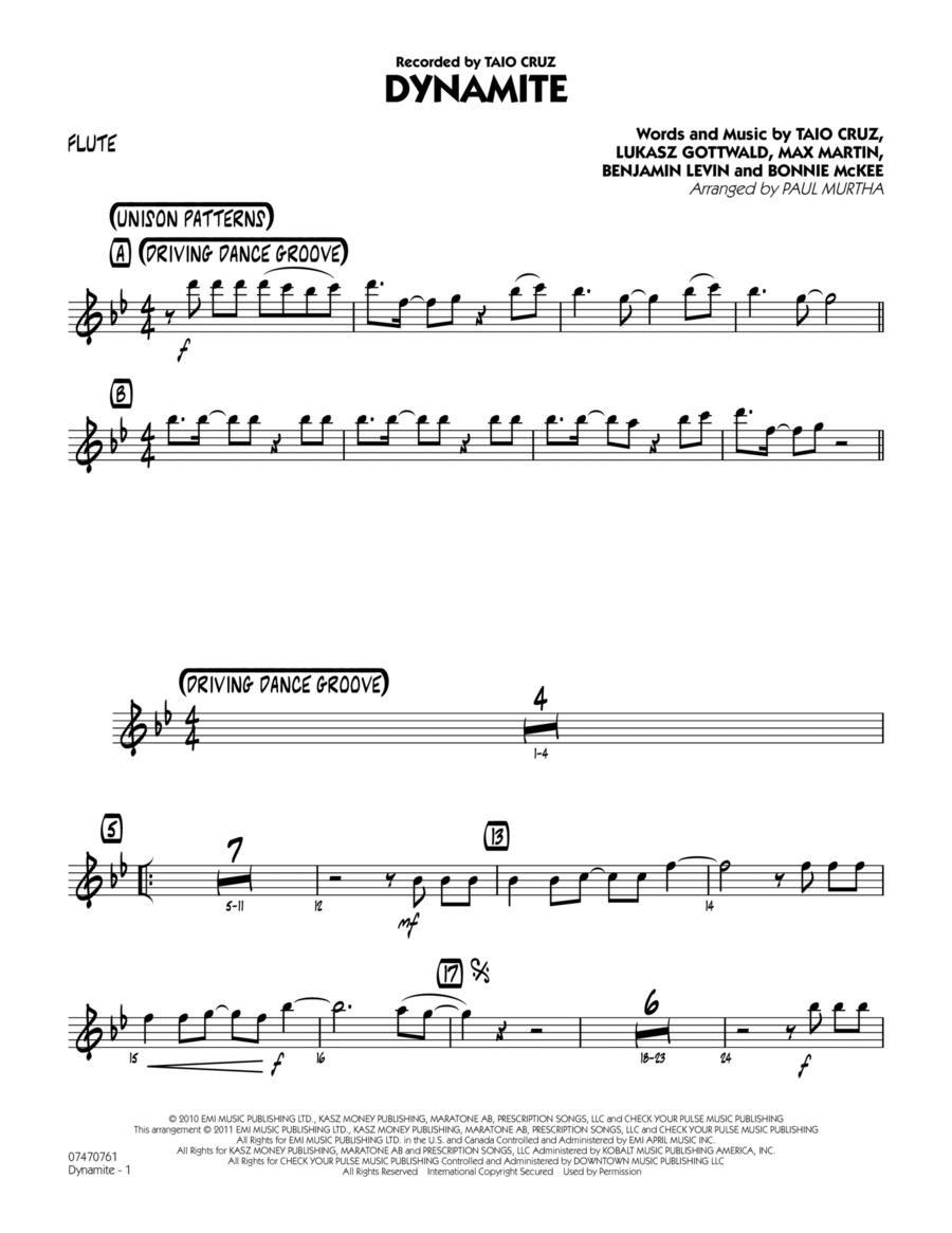 Dynamite - Flute