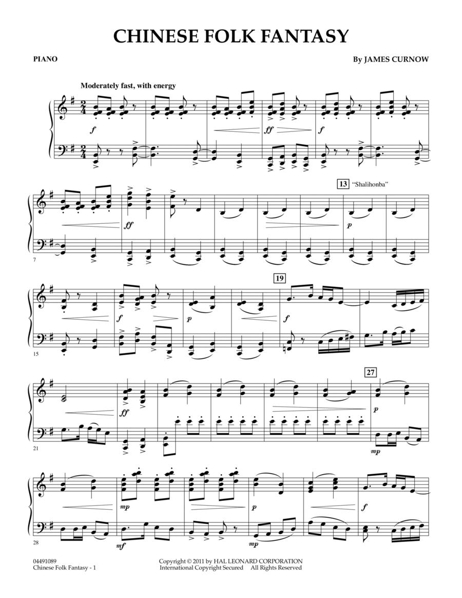 Chinese Folk Fantasy - Piano