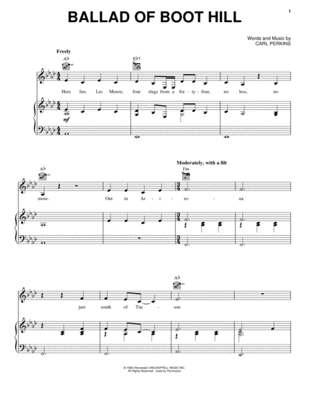 Ballad Of Boot Hill