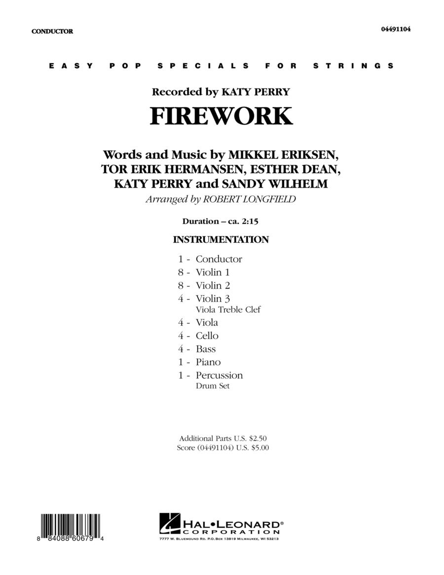 Firework - Full Score