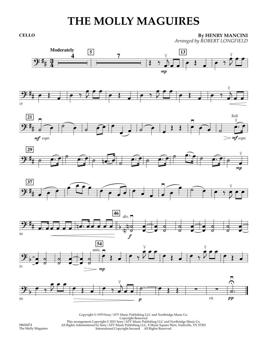The Molly Maguires - Cello