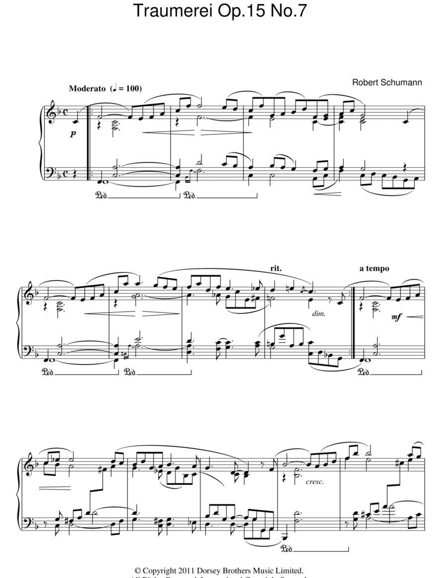 Traumerei Op. 15 No. 7