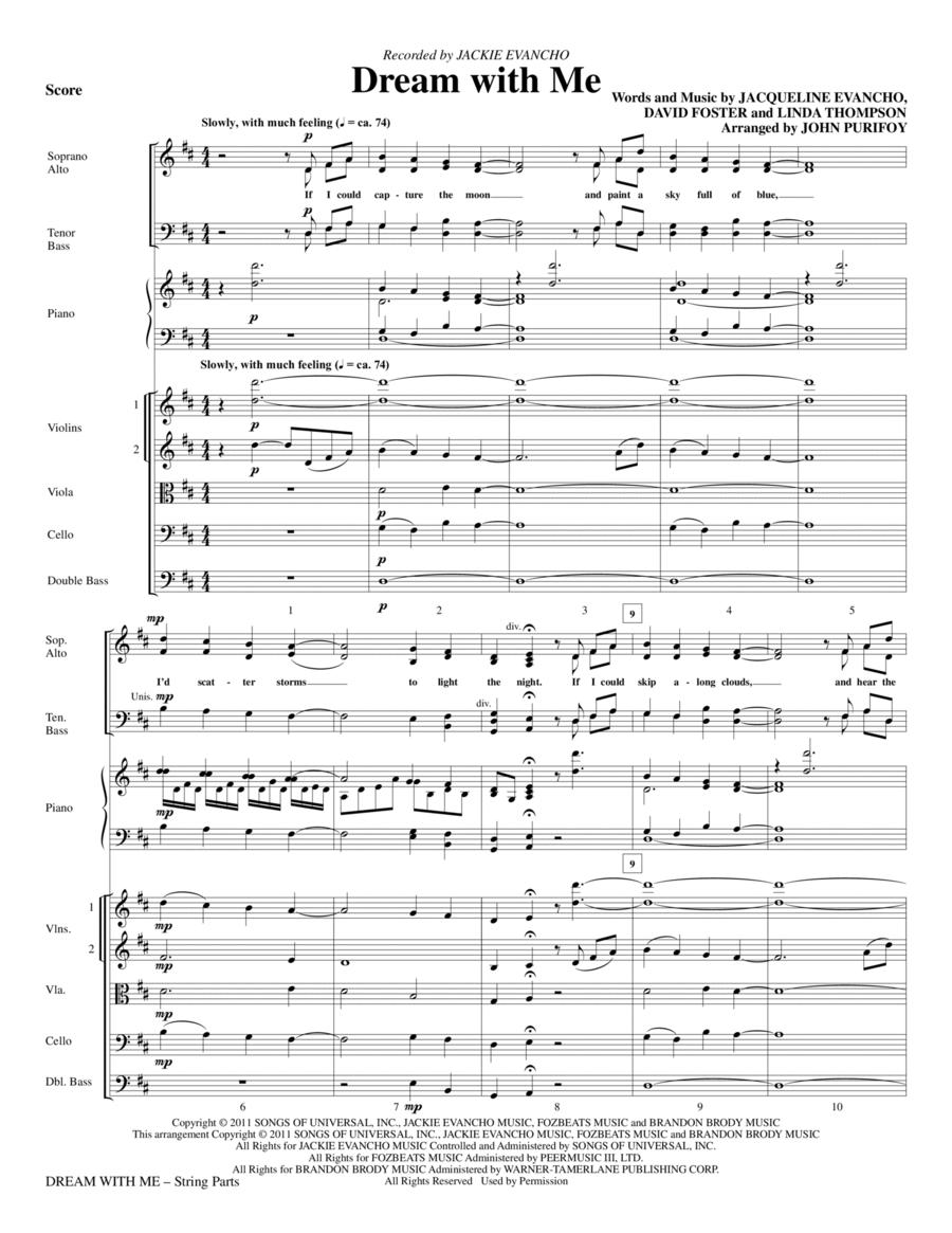 Dream With Me - Full Score
