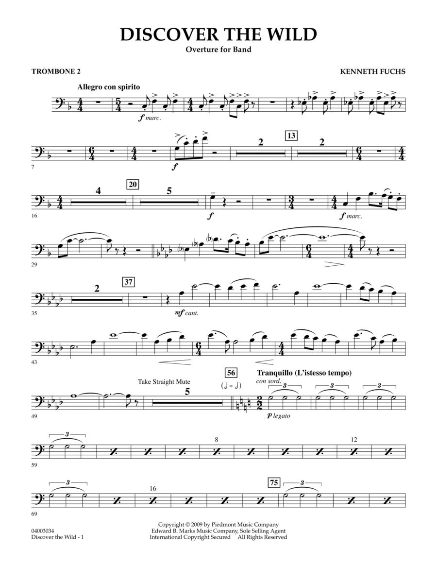 Discover The Wild - Trombone 2