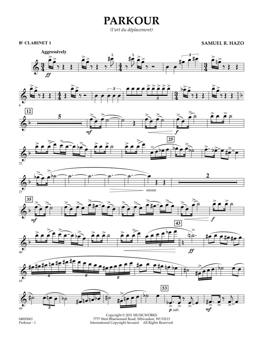 Parkour - Bb Clarinet 1