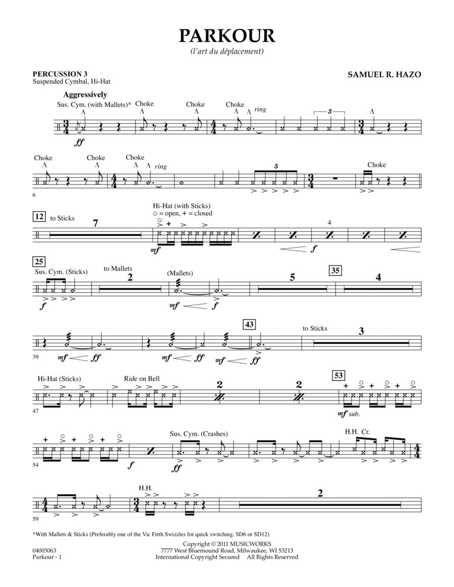 Parkour - Percussion 3