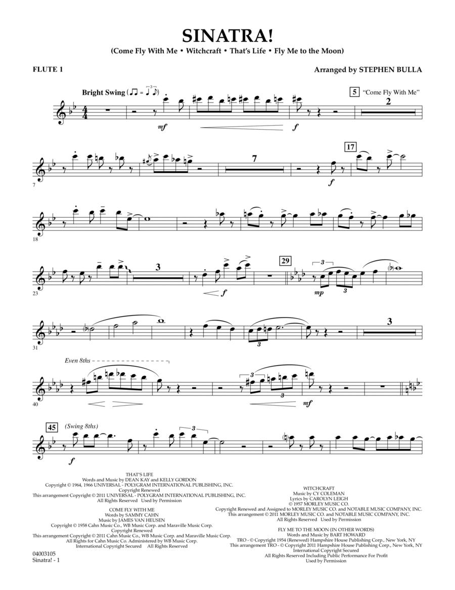 Sinatra! - Flute 1