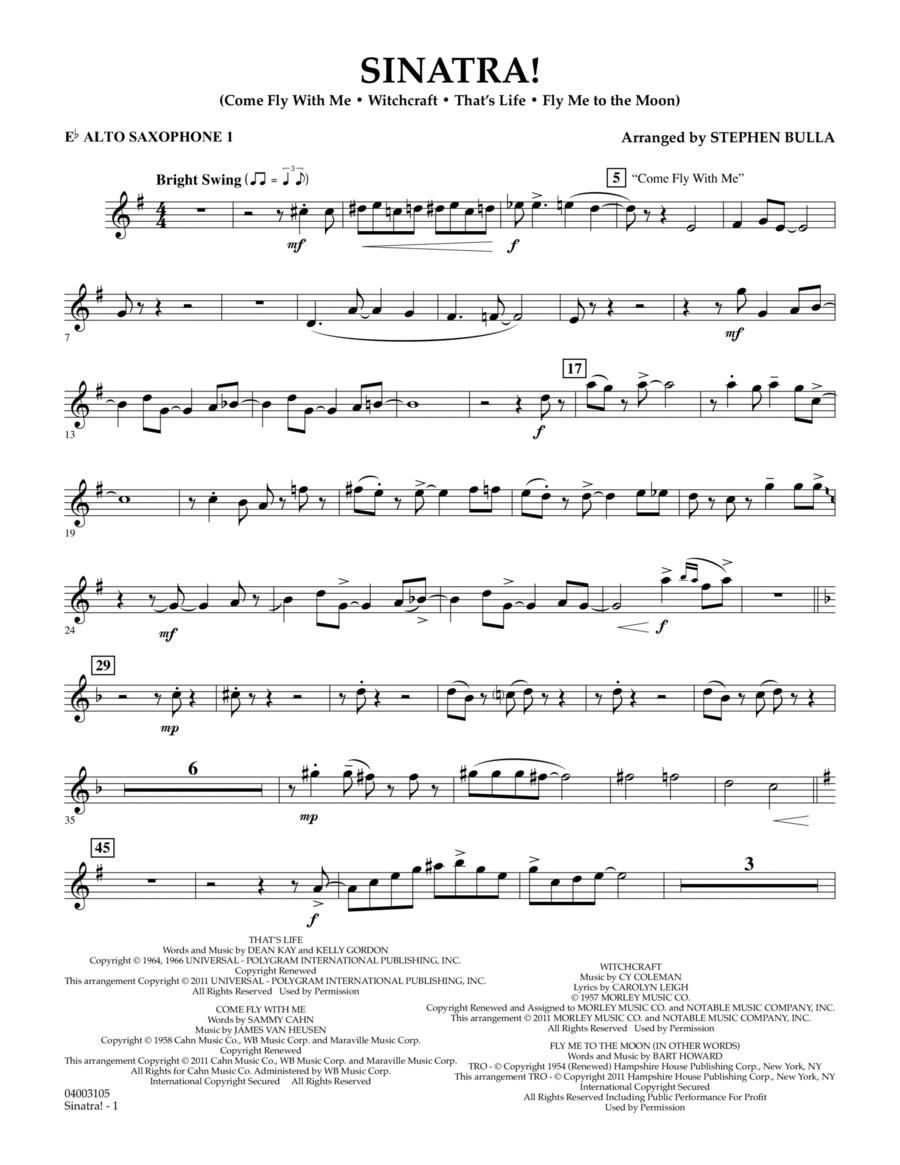 Sinatra! - Eb Alto Saxophone 1