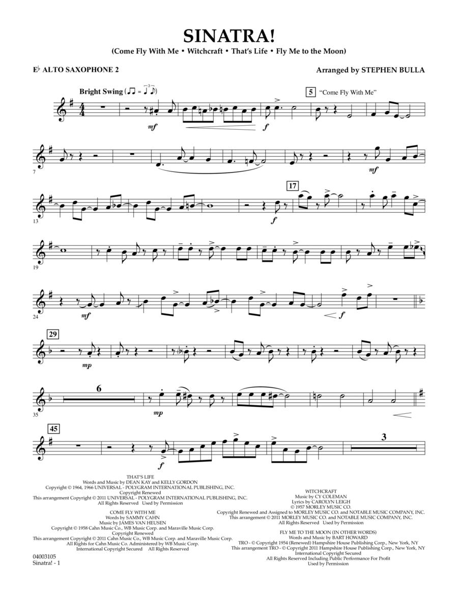 Sinatra! - Eb Alto Saxophone 2