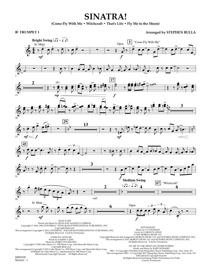 Sinatra! - Bb Trumpet 1