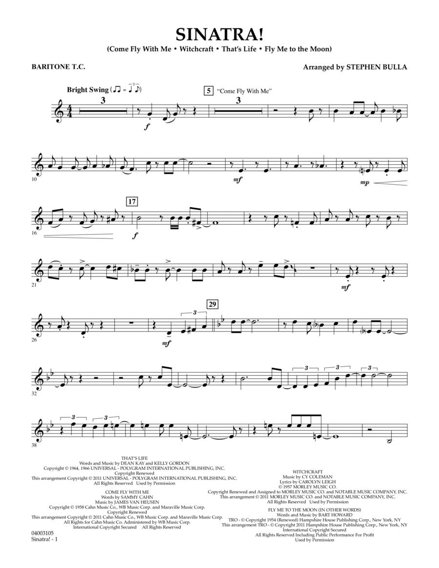 Sinatra! - Baritone T.C.