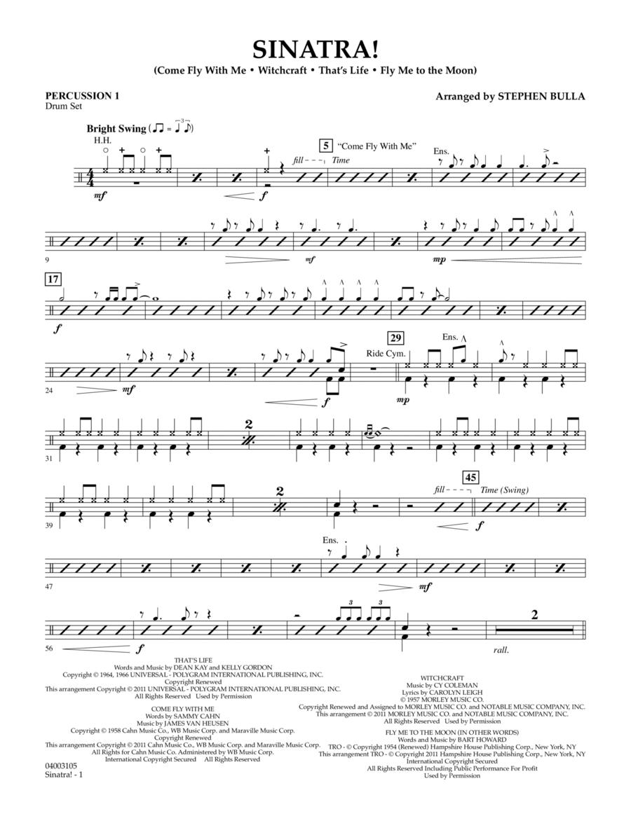 Sinatra! - Percussion 1
