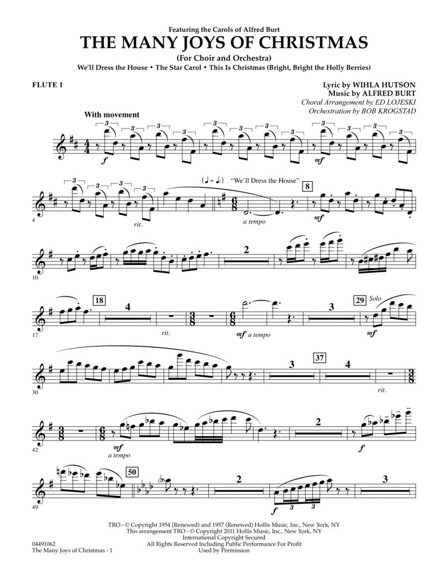 The Many Joys Of Christmas (Set One) - Flute 1