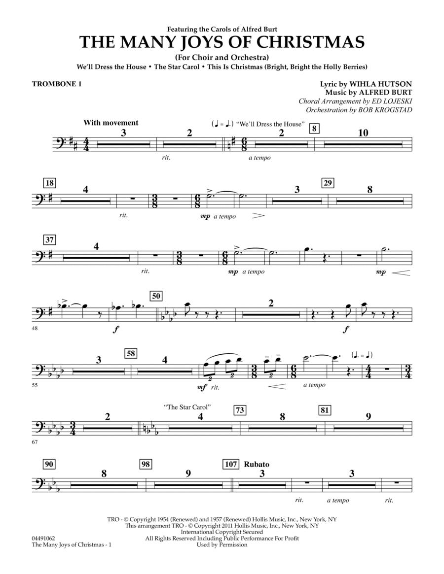The Many Joys Of Christmas (Set One) - Trombone 1