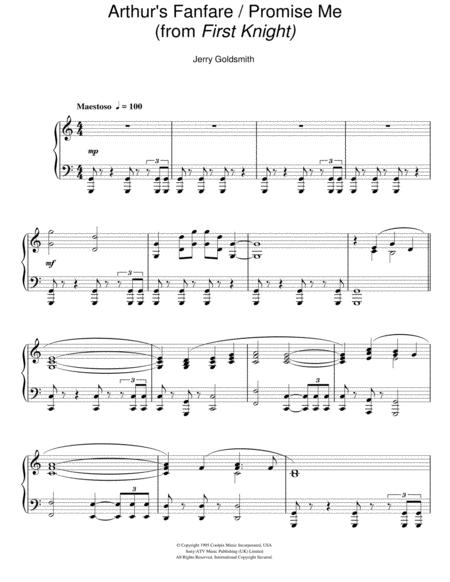 Arthur's Fanfare / Promise Me