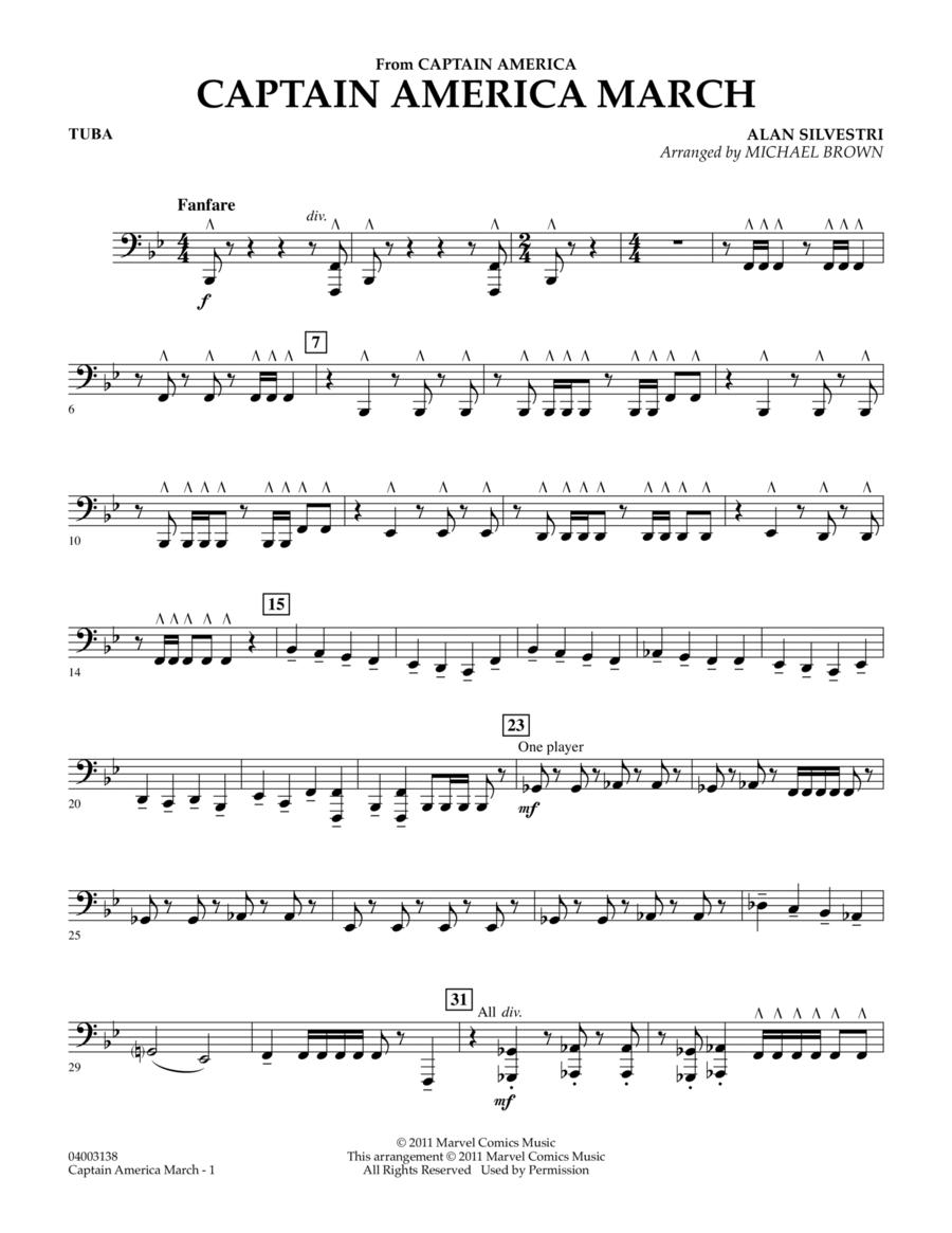 Captain America March - Tuba