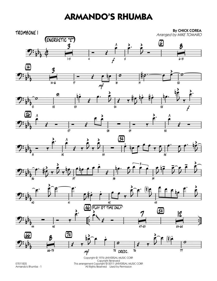 Armando's Rhumba - Trombone 1
