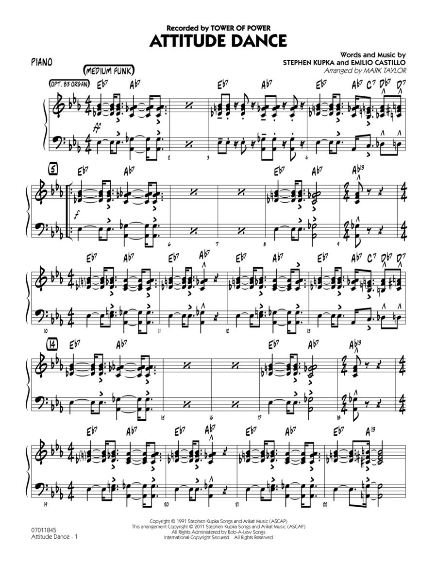 Attitude Dance - Piano