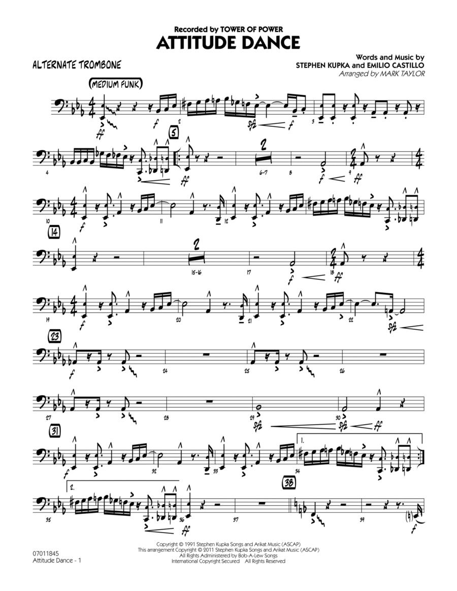 Attitude Dance - Alternate Trombone