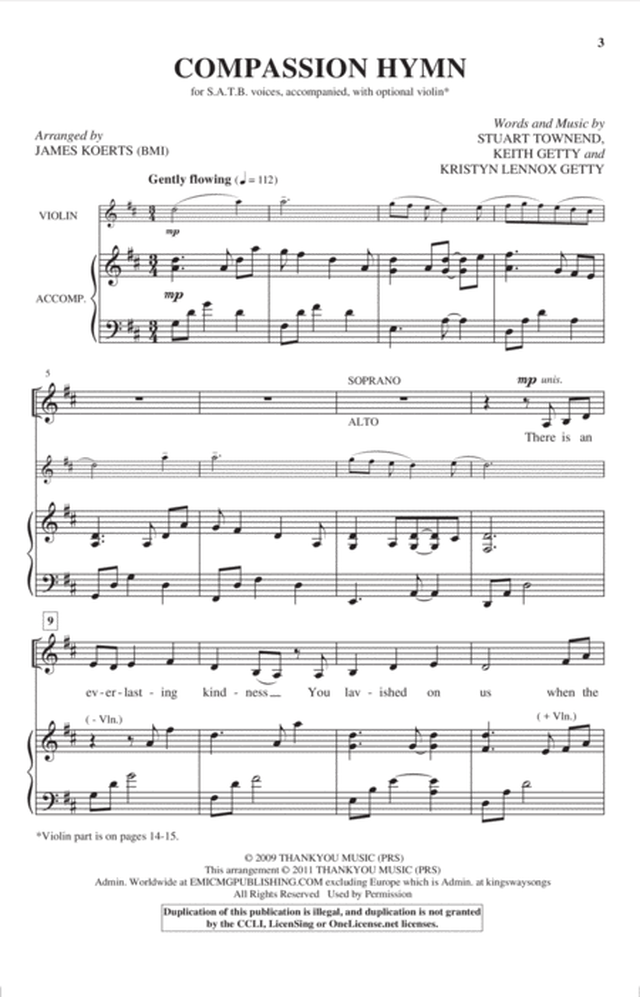 Compassion Hymn