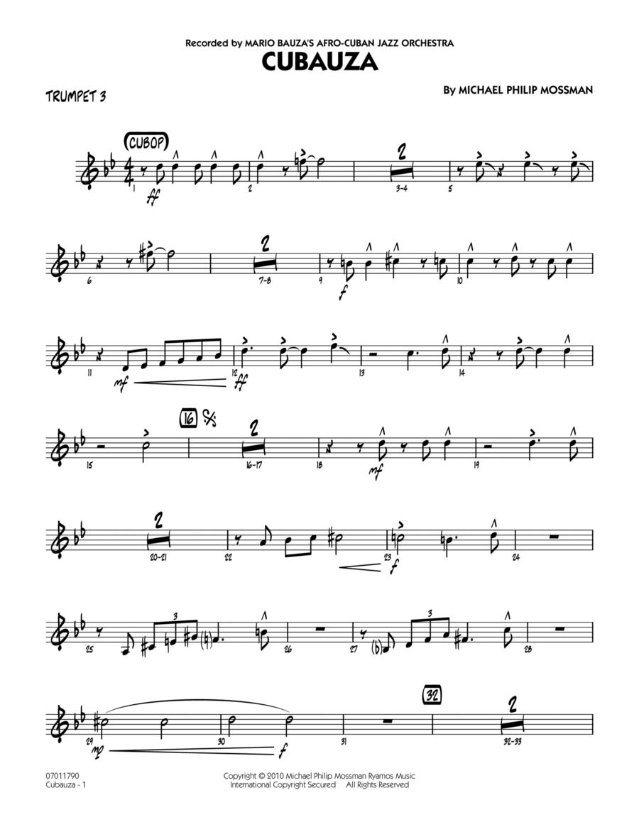 Cubauza! - Trumpet 3