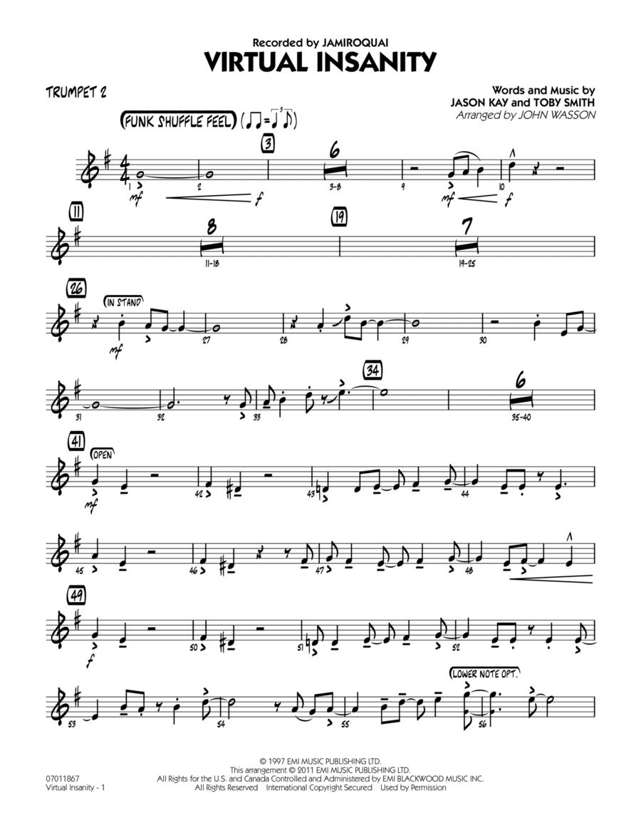 Virtual Insanity - Trumpet 2