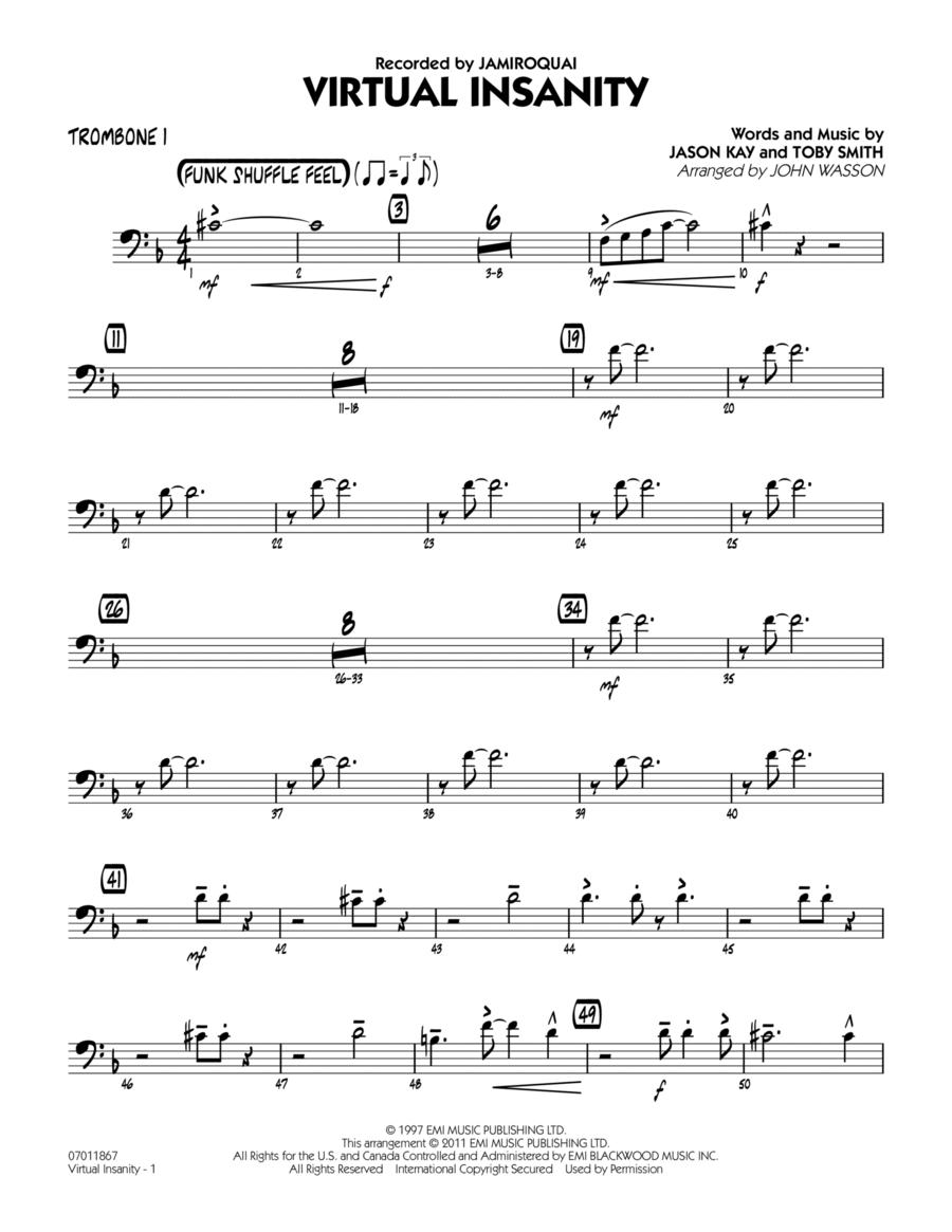 Virtual Insanity - Trombone 1
