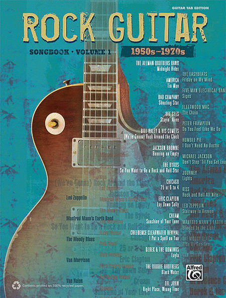 The Rock Guitar Songbook - Volume 1 (1950s-1970s)