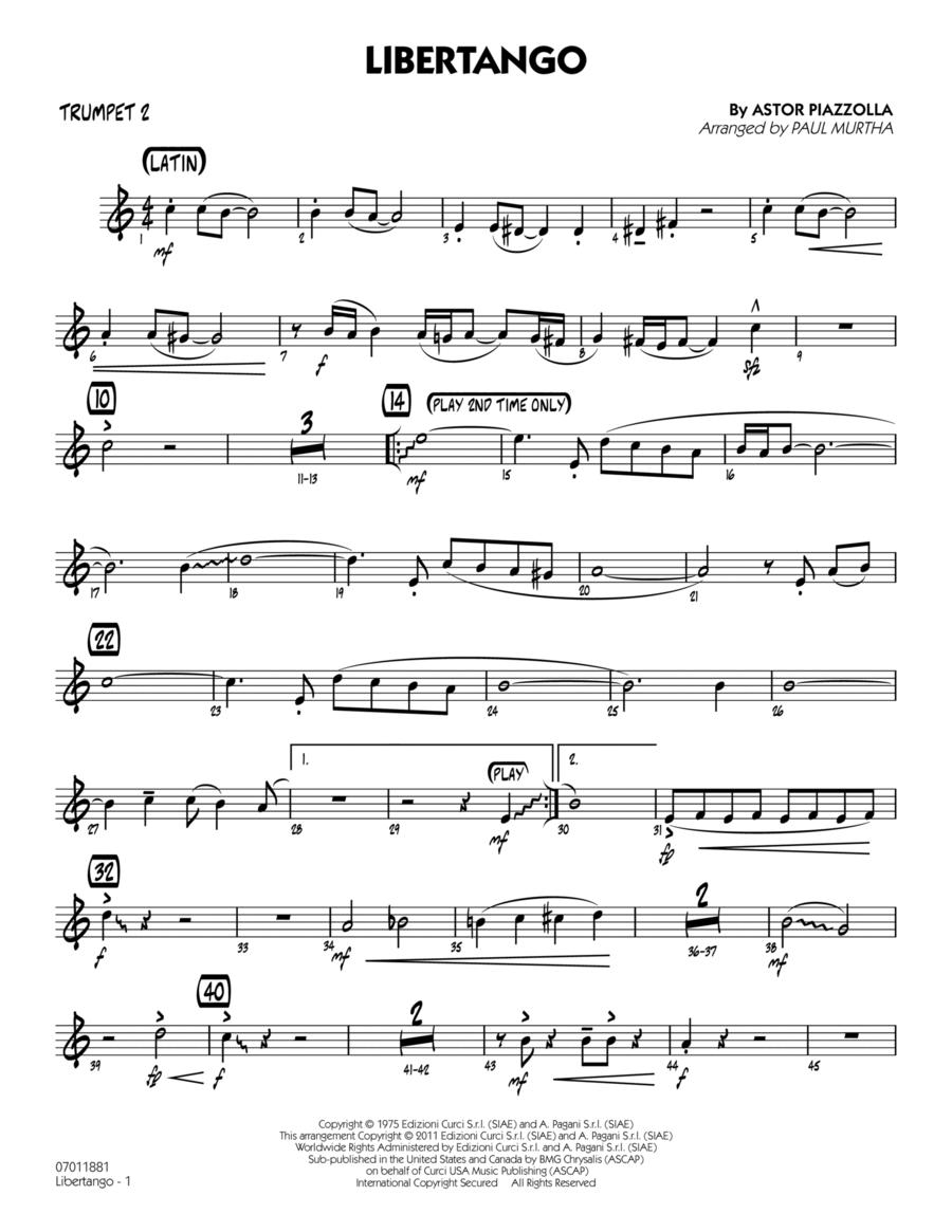 Libertango - Trumpet 2