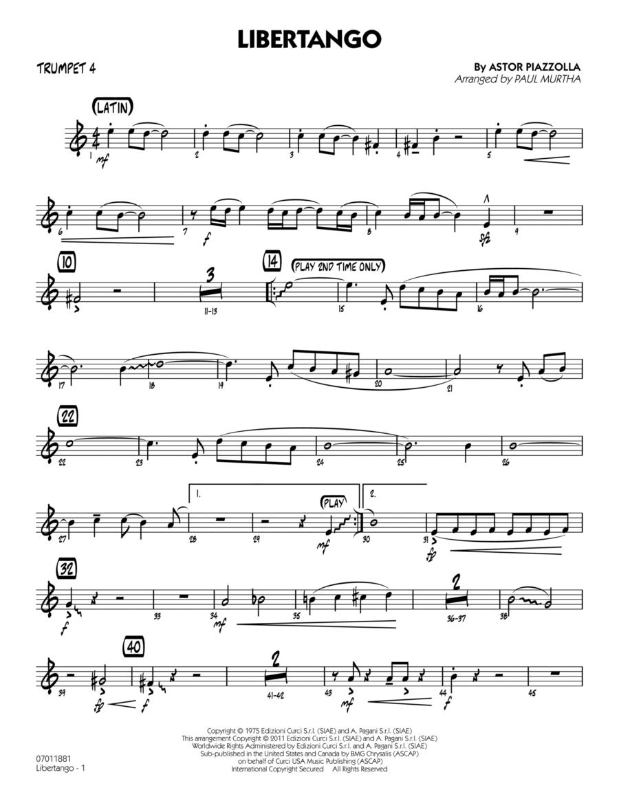 Libertango - Trumpet 4