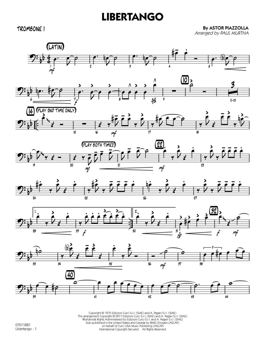 Libertango - Trombone 1