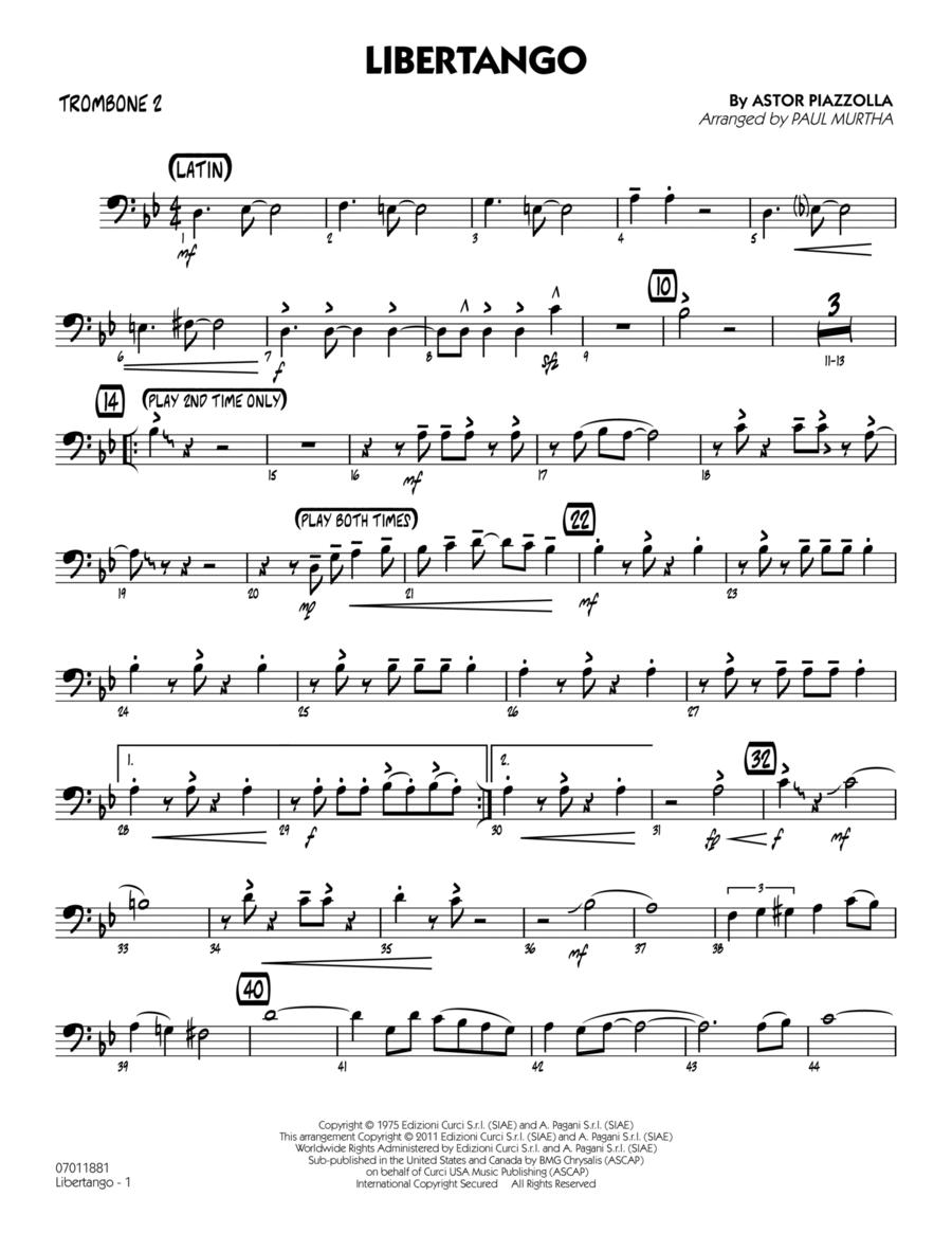 Libertango - Trombone 2