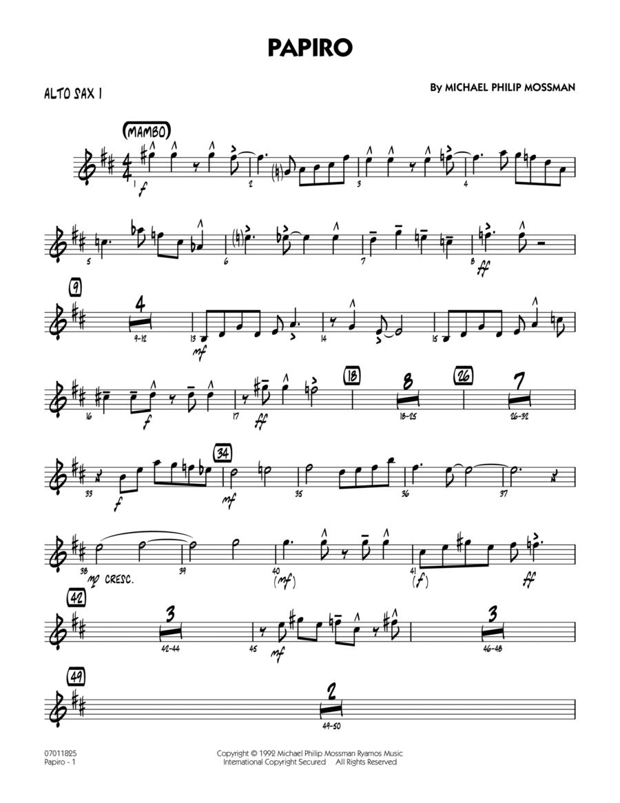 Papiro - Alto Sax 1