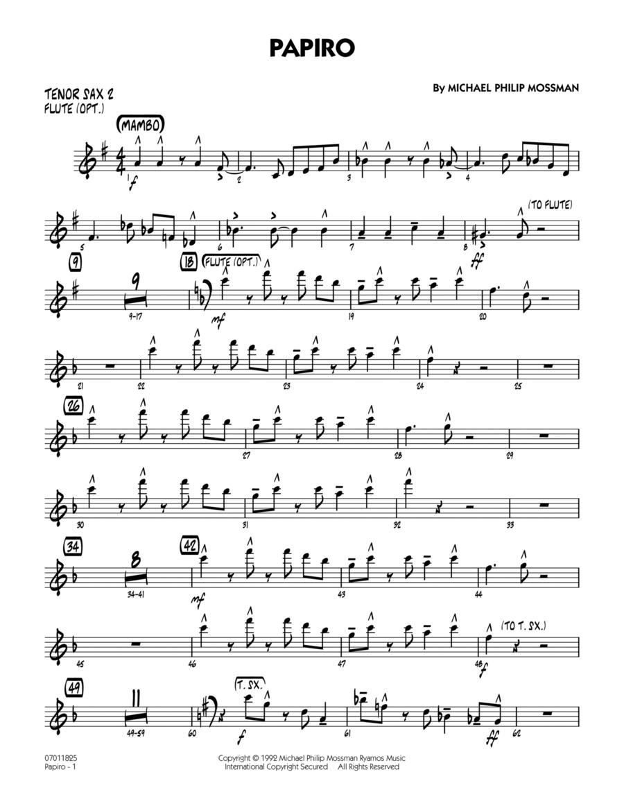 Papiro - Tenor Sax 2