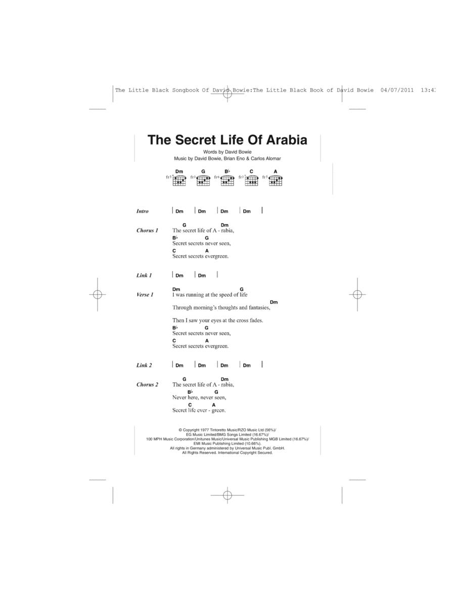 The Secret Life Of Arabia