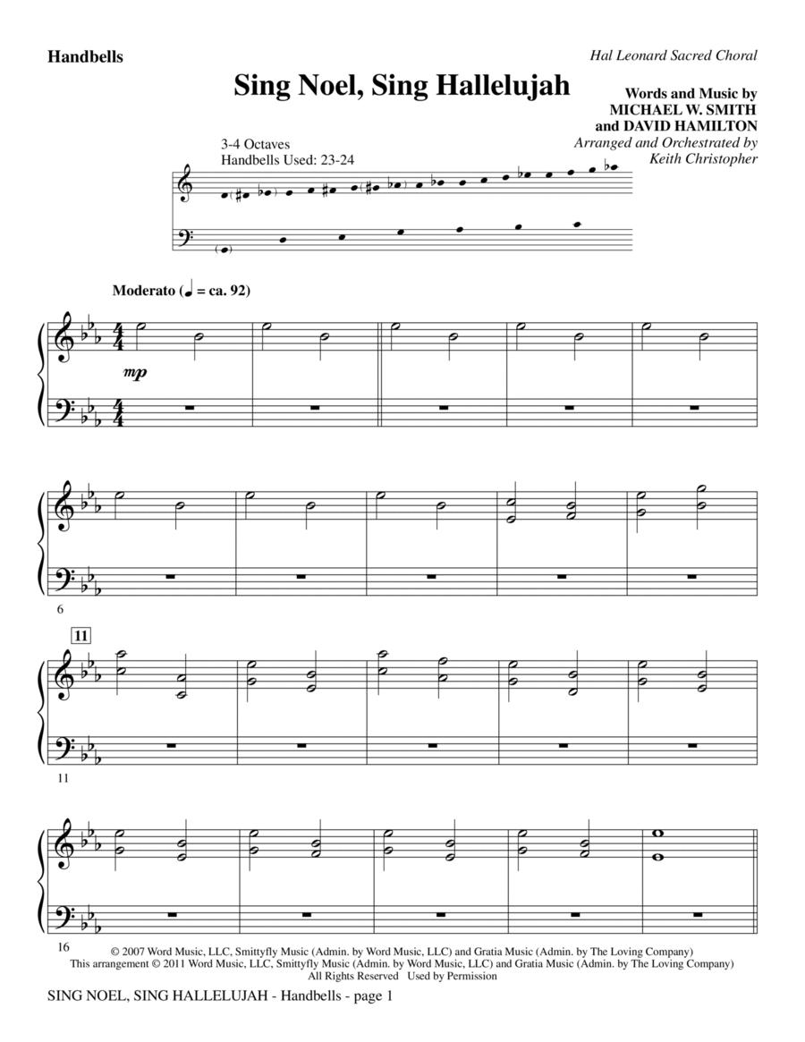 Sing Noel, Sing Hallelujah - Handbells