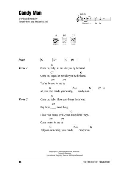 Download Candy Man Sheet Music By Roy Orbison - Sheet Music Plus