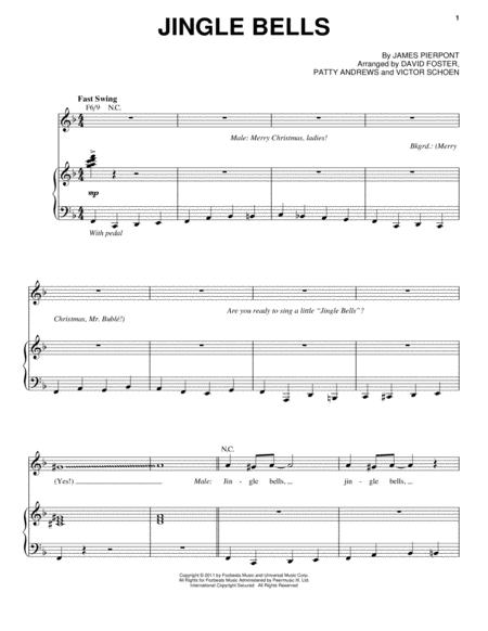 MICHAEL BUBLE - JINGLE BELLS LYRICS - SongLyrics.com