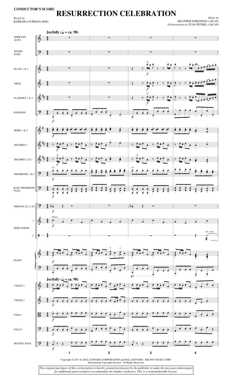Resurrection Celebration - Full Score