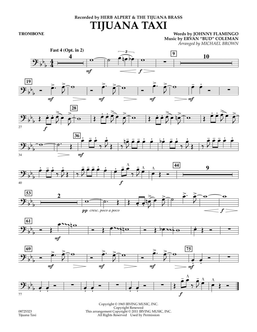 Tijuana Taxi - Trombone