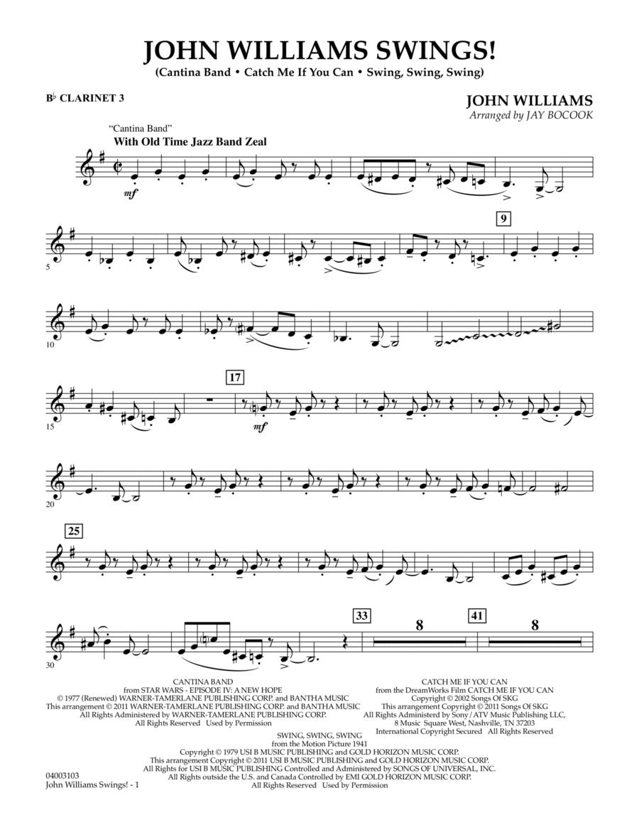 John Williams Swings! - Bb Clarinet 3