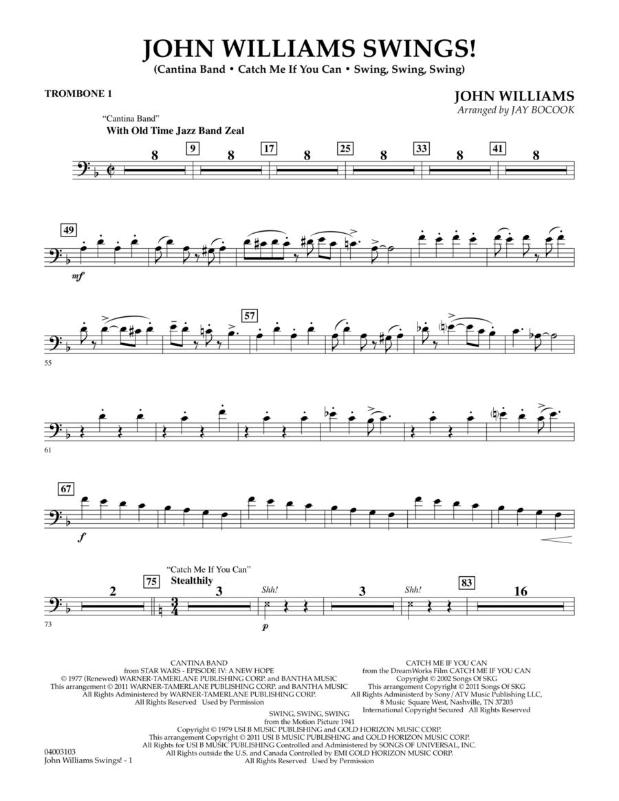 John Williams Swings! - Trombone 1