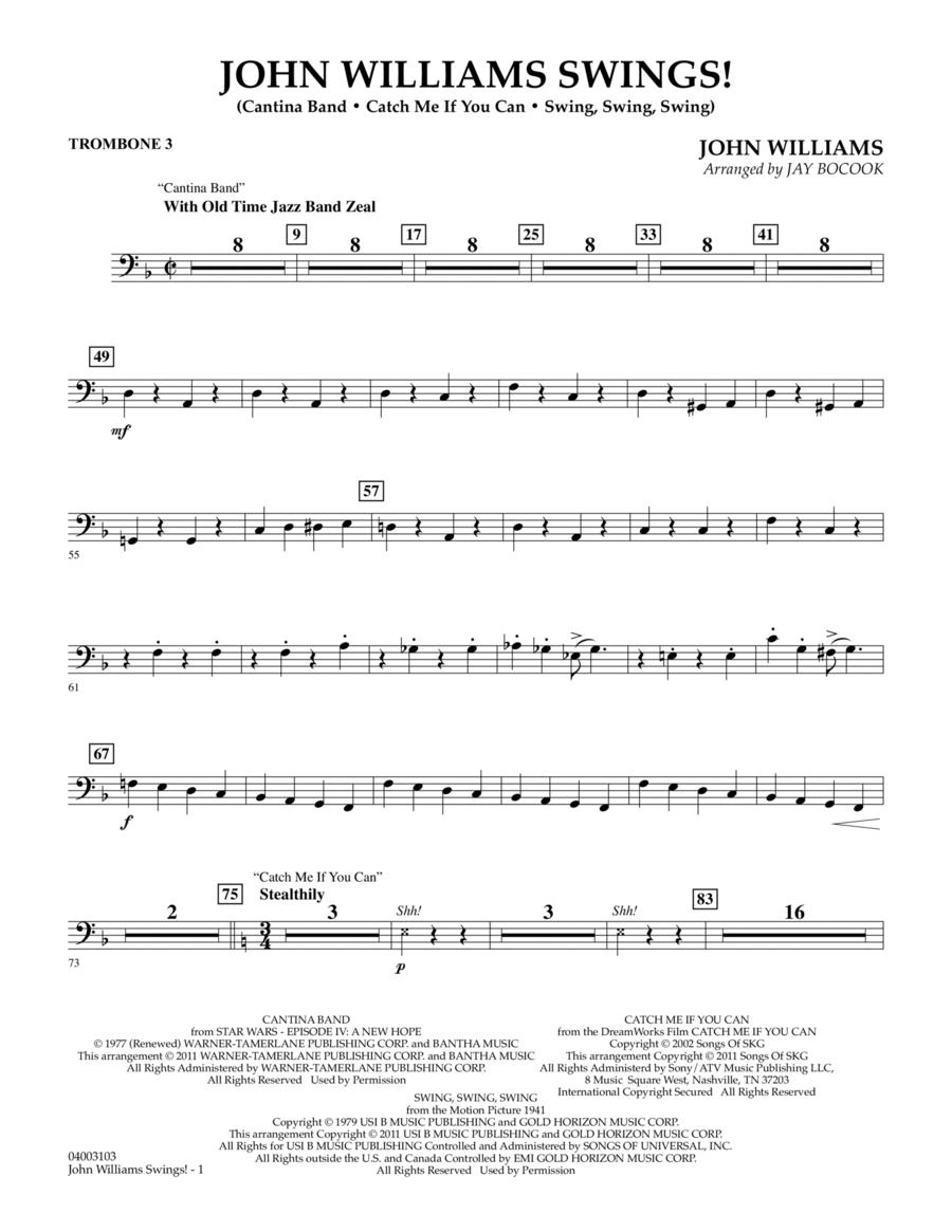 John Williams Swings! - Trombone 3