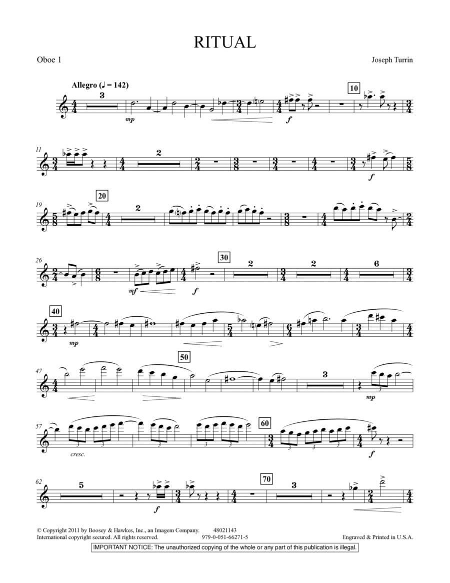 Ritual - Oboe 1