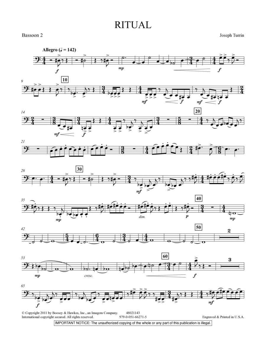 Ritual - Bassoon 2