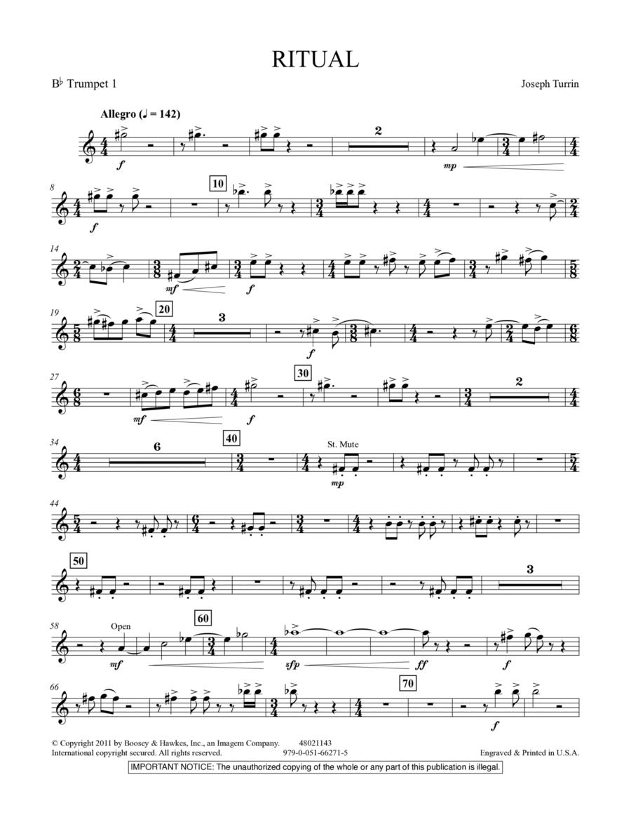 Ritual - Bb Trumpet 1