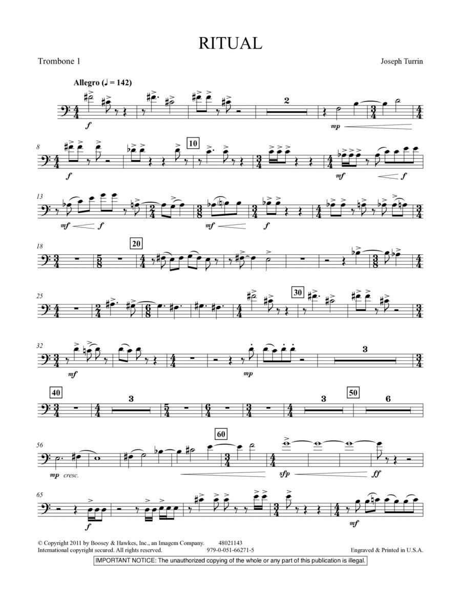 Ritual - Trombone 1