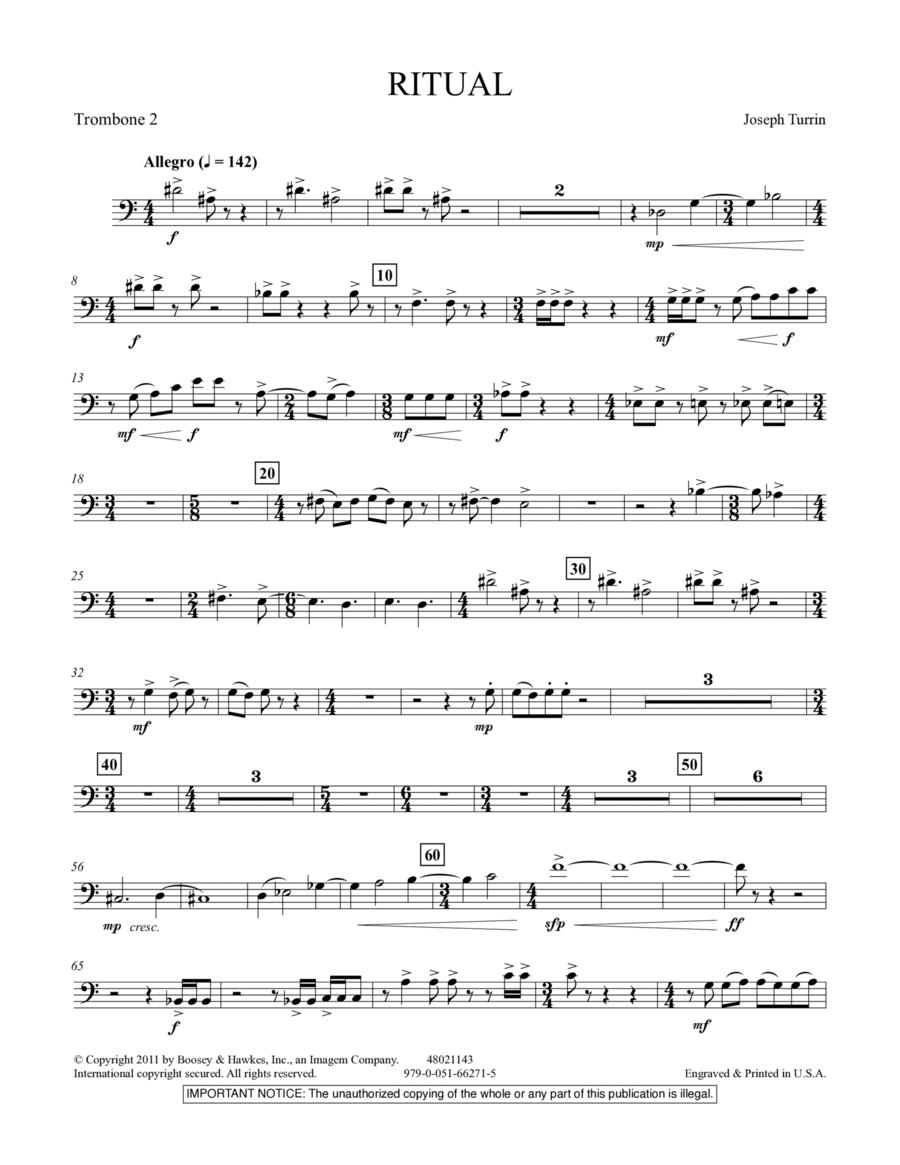Ritual - Trombone 2